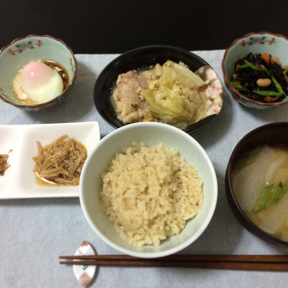 20140604_鶏肉とキャベツのマスタード炒め