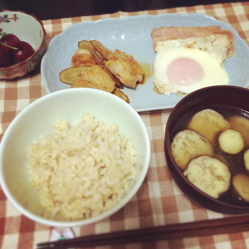 20140618_鶏肉の照り焼き