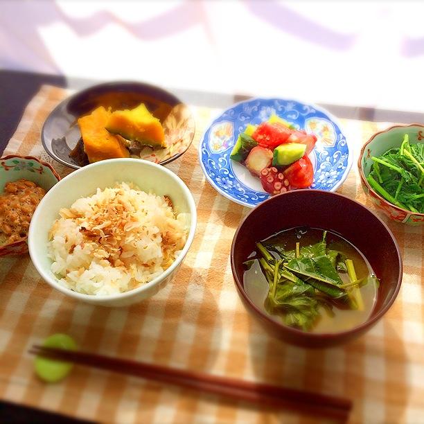 20140807_鯵のひらきの混ぜご飯