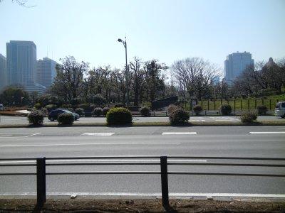 彦根藩上屋敷跡