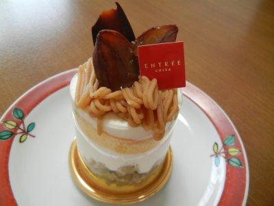 アントレのケーキ