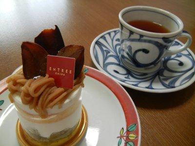 ケーキ&紅茶