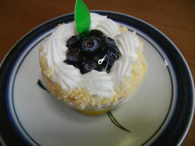 ブルーベリー・ケーキ