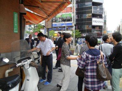 タイから来た観光客