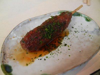 特製たたき(肉だんご)