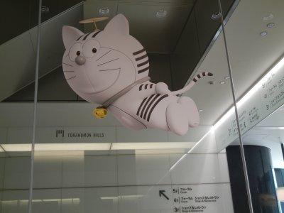 天井にも虎エモン