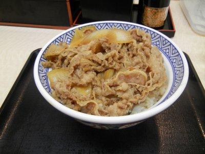 牛丼大盛@460円
