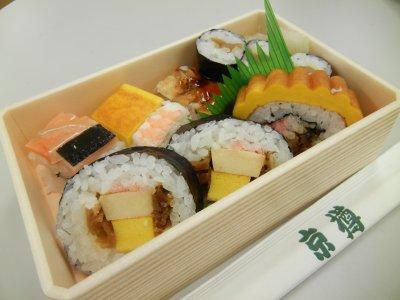 京樽・弁当・つる 開封
