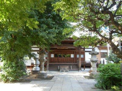 正受院(不動の滝跡、赤ちゃん寺)