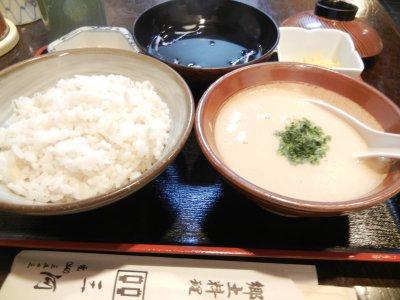 麦とろ定食