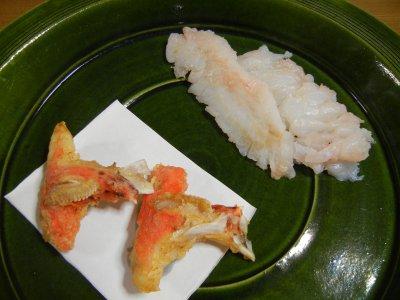 オニカサゴ・刺身と唐揚げ