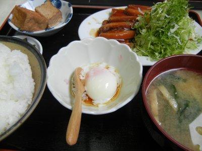 豚角煮定食