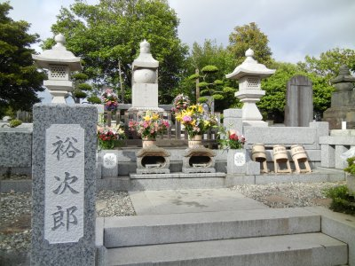 裕次郎の墓