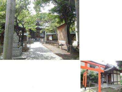 荏原神社(貴船明神社)と稼薔稲荷