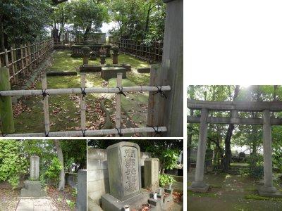 東海寺大山墓地