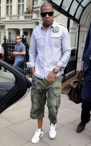 Jay+Z-Balmain-Military-Shirt-G-Star-camo-surf-shorts-Adidas-sneakers-6.jpg