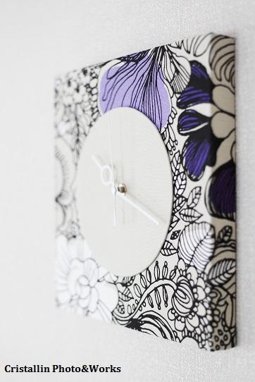 ブログ 時計とスツール1