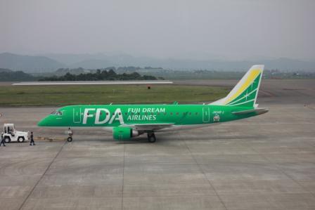 FDAで福岡へ