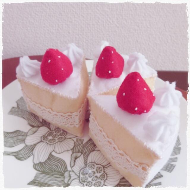 イチゴのケーキ2
