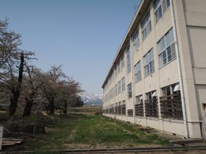 4月27日裏校舎