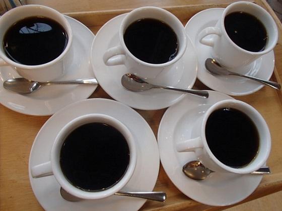ホットコーヒー5杯