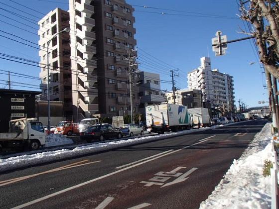 雪渋滞 (1)