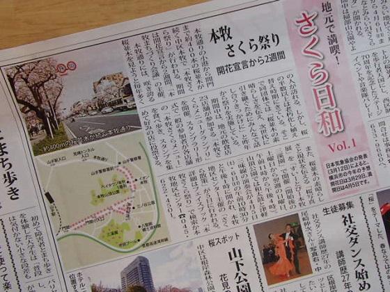 桜開花予報 (6)