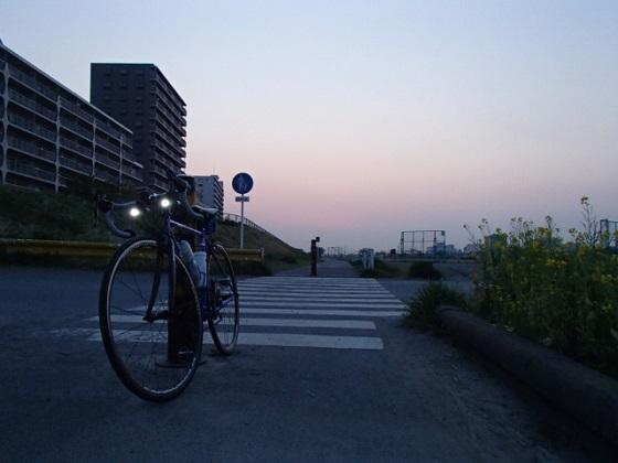 ロードバイクで配達 (2)