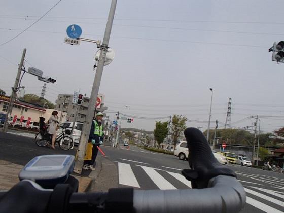 ロードバイクで配達 (19)
