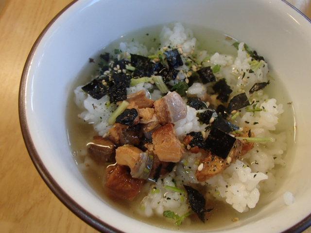 ウナギ茶漬け (5)