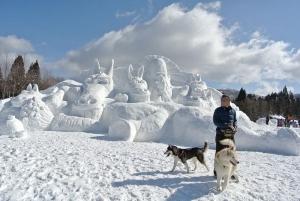 2014年2月16日23日犬橇練 001