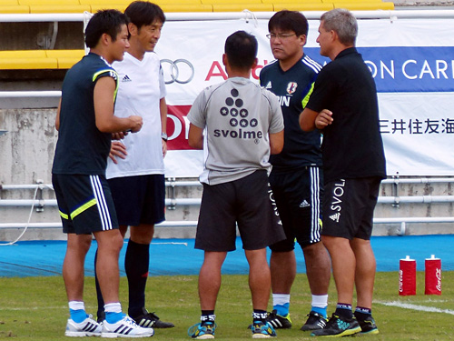 20140813U-21練習試合2