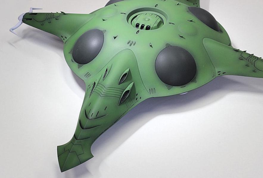 ガミラスポルメリア級強襲宇宙母艦-2