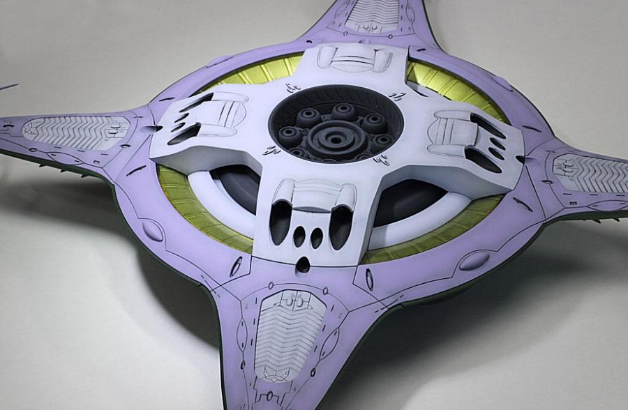 ガミラスポルメリア級強襲宇宙母艦-3