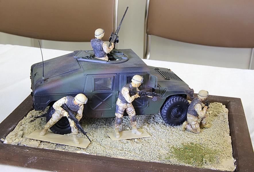 イラク戦 ハンビー
