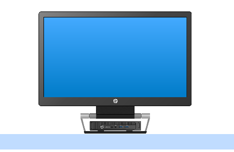 HP EliteDesk 800 G1_モニターマウントキット