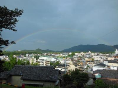 倭姫宮からの虹