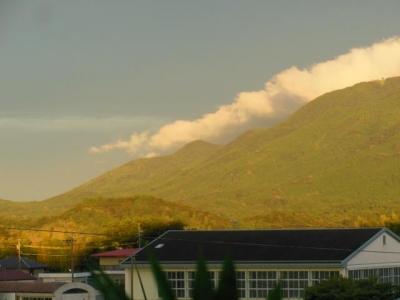 朝熊山の東端
