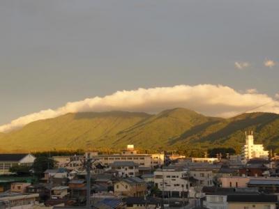 雲の現れ方