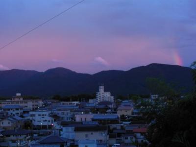 朝熊山上空