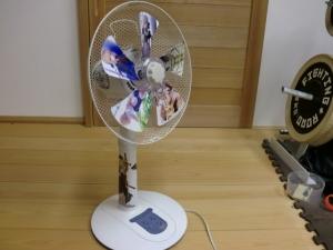 扇風機塗装仮組み2
