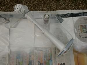 扇風機塗装1