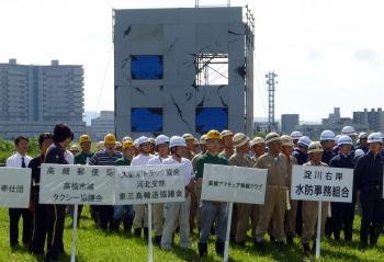 20140830高槻防災訓練1