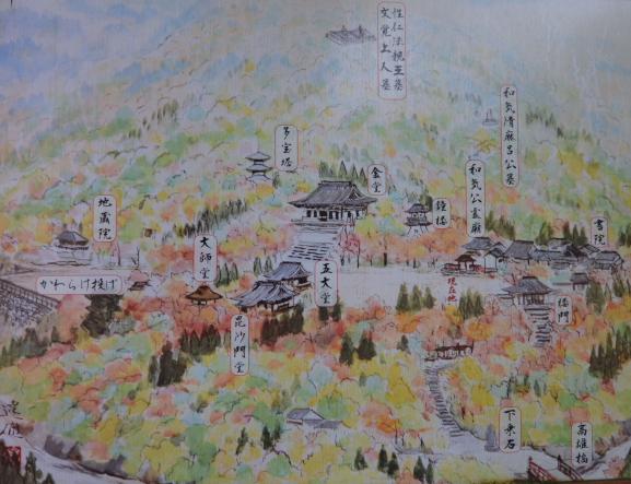 神護寺伽藍図