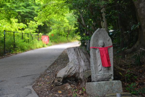 01登山道入り口付近