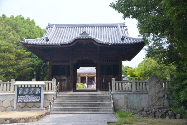 06屋島寺山門