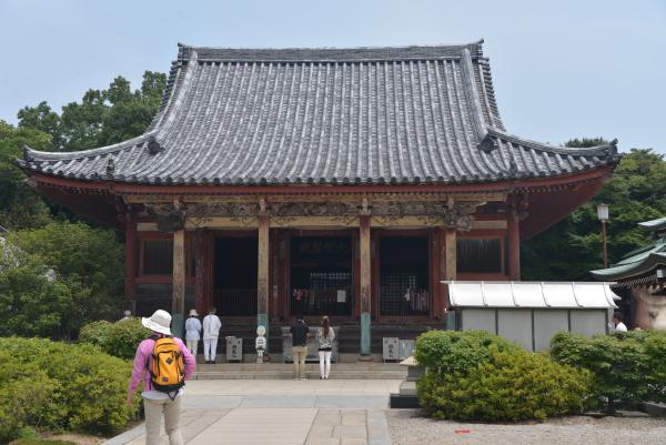 09屋島寺本堂