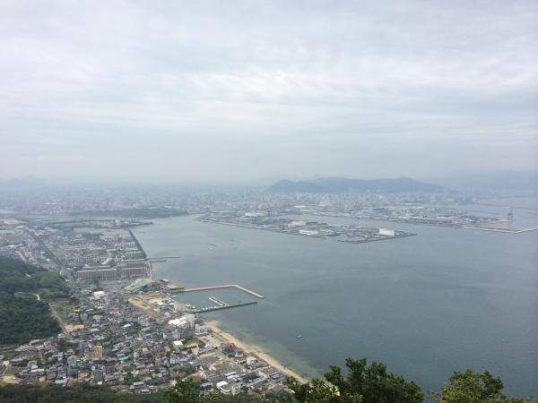 21魚見台からの高松市街