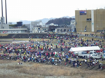 2014ぎふ鵜飼マラソン (1)