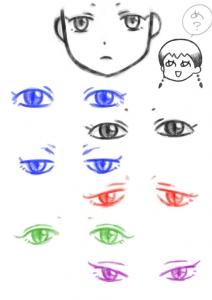 目の練習01